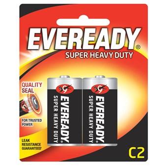 Eveready Super Zinc C batteries 2s (EVR14SUPERB2)
